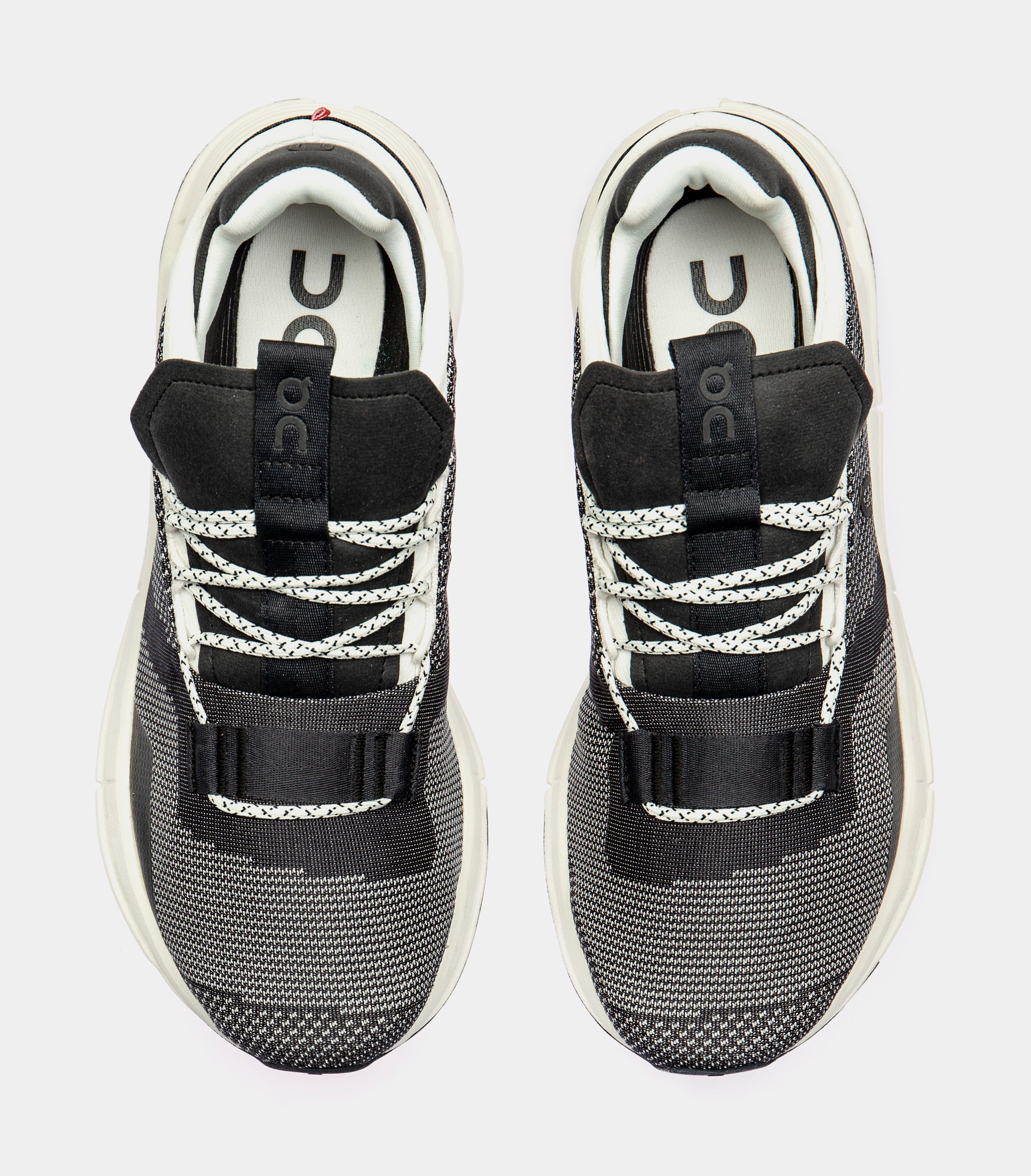 Cloudnova Mens Running Shoe (Black/White) Free Shipping