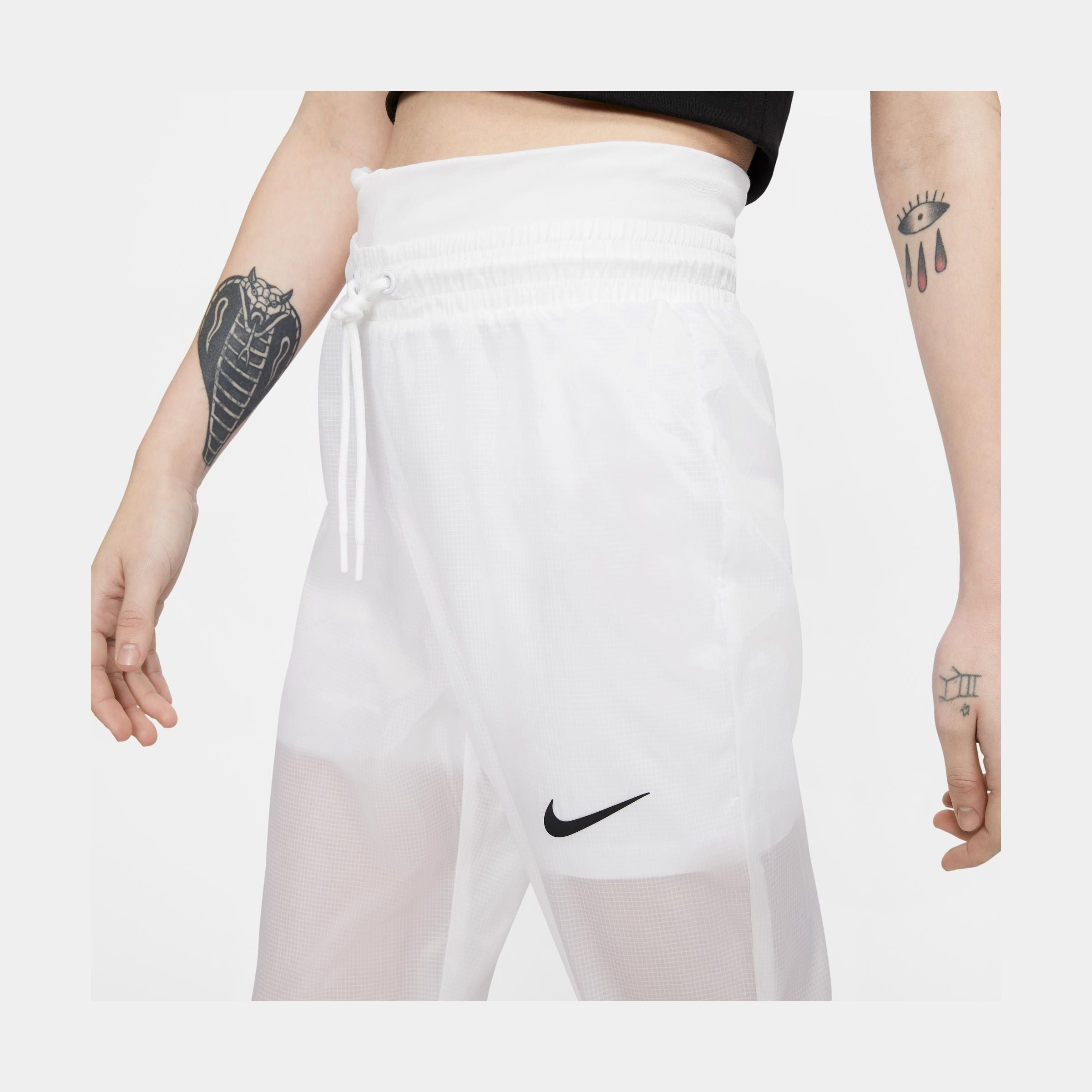 Sportswear Women Woven Pants (White/Black)