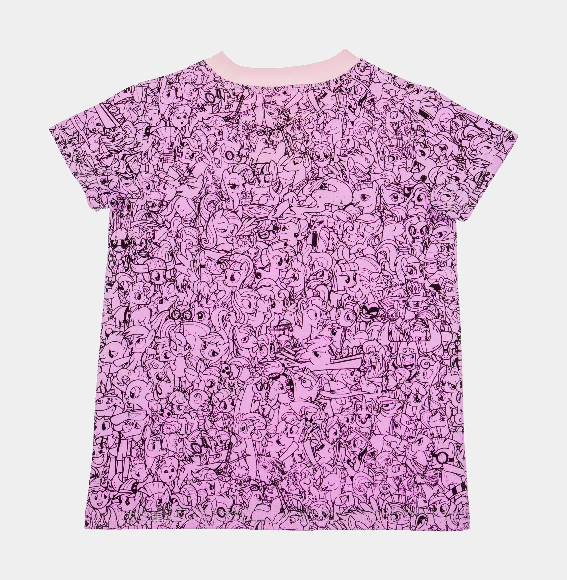 My Little Pony All Over Print Infant Toddler T-Shirt (Purple/Black)