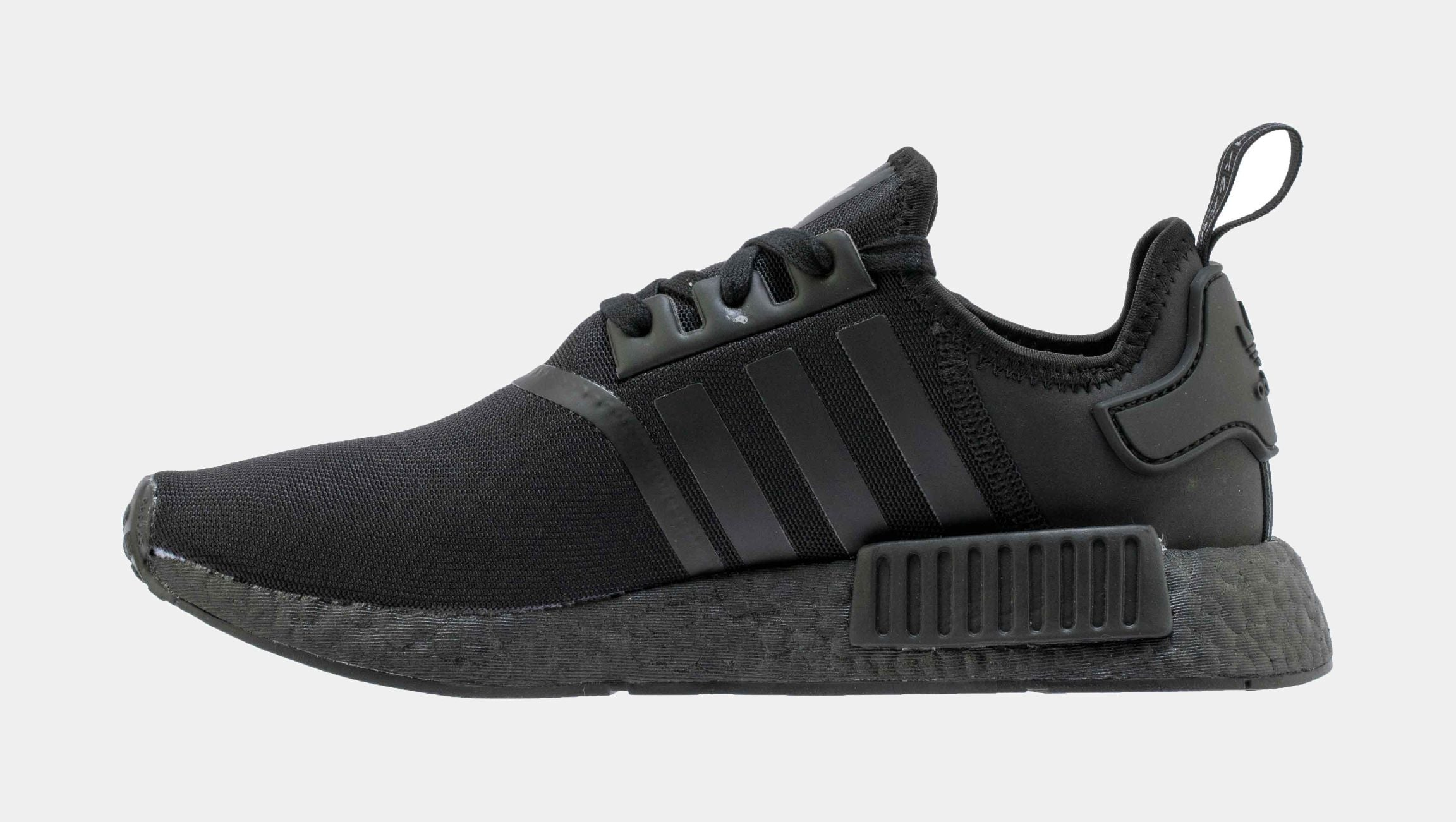 NMD R1 Triple Threat Mens Running Shoe (Black/Black)