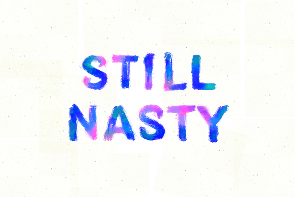Still Nasty postcard