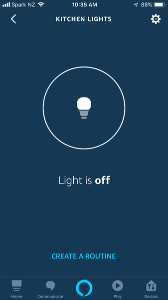 Alexa Light Off