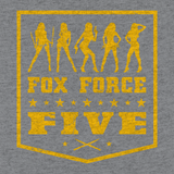 Fox Force Five Shirt - Heather Gray