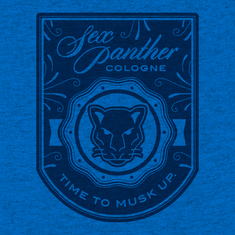 Sex Panther - Heather Blue