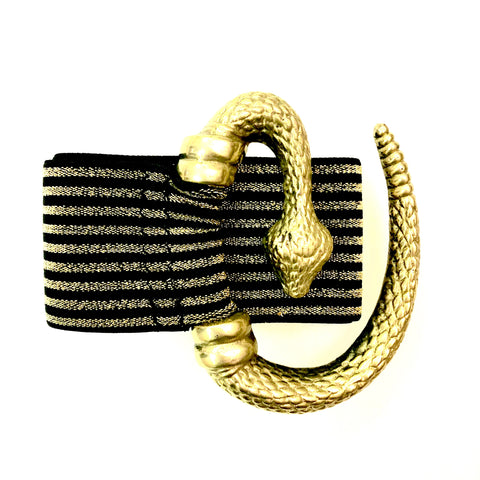 Mythology Snake Stretch Belt