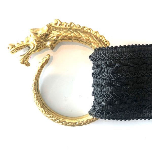6. Brass Dragon stretch belt