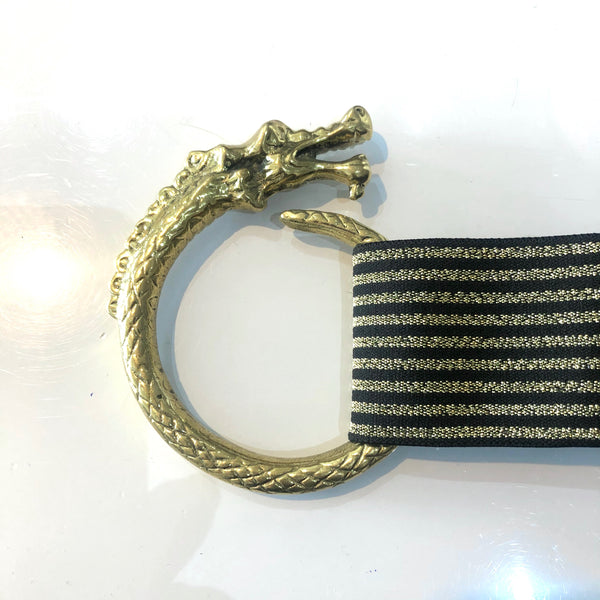 Mythology Brass Dragon Stretch Belt