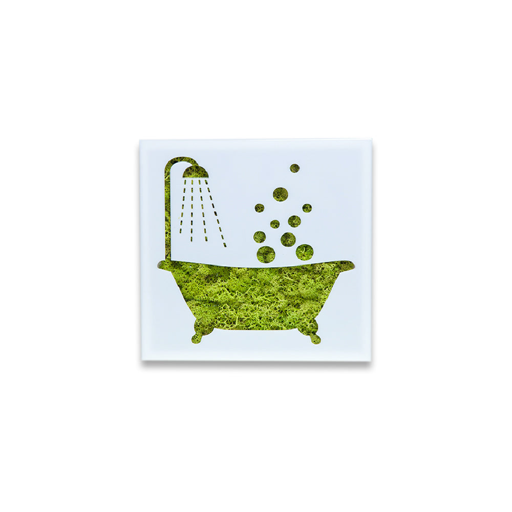 Moss Decor - Bath Tub - Moss Art | FlowerBox Store – Flowerbox Wall ...