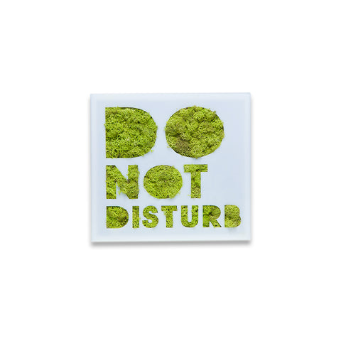 Moss Decor - Do Not Disturb