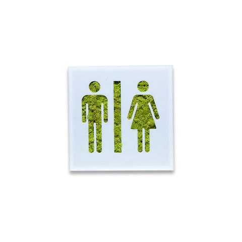 Moss Decor - Toilette