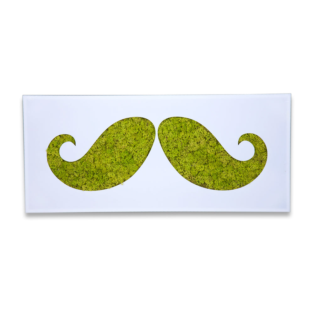 Moss Decor - XL Moustache