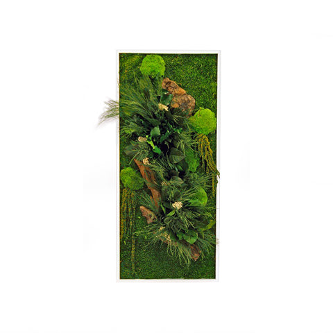 Nature - Rectangle Large Wall Garden