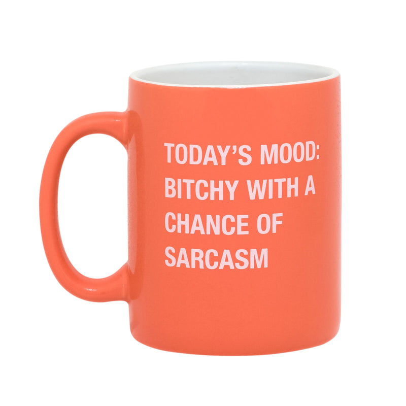 Bitchy & Sarcasm - Ceramic Mug-Little Hooligans Co.