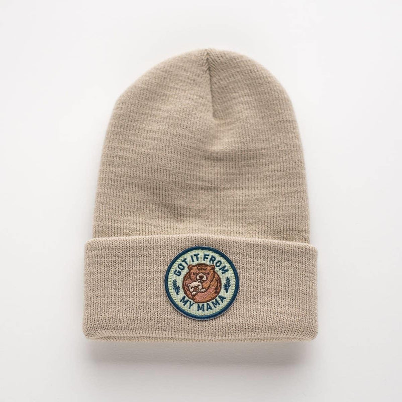 Got It From Mama - Infant/Toddler Beanie-Little Hooligans Co.