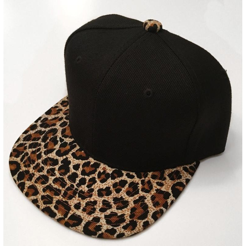 Cheetah Print Snapback-Little Hooligans Co.