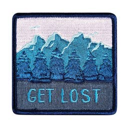 Get Lost - Iron-On Patch-Little Hooligans Co.