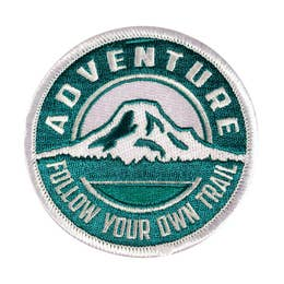 Adventure - Iron-On Patch-Little Hooligans Co.