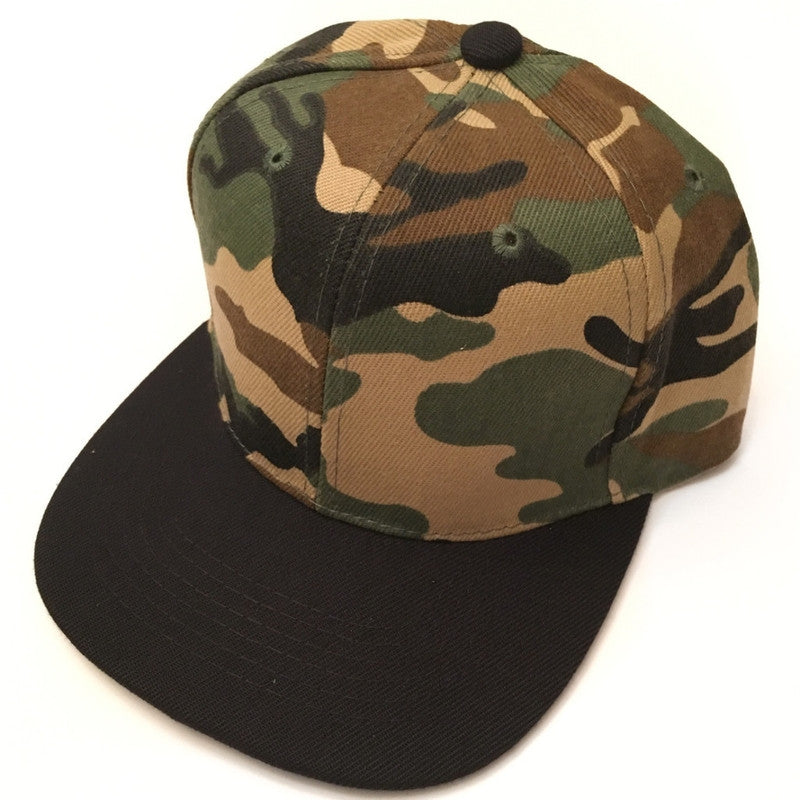 Camo Snapback-Little Hooligans Co.