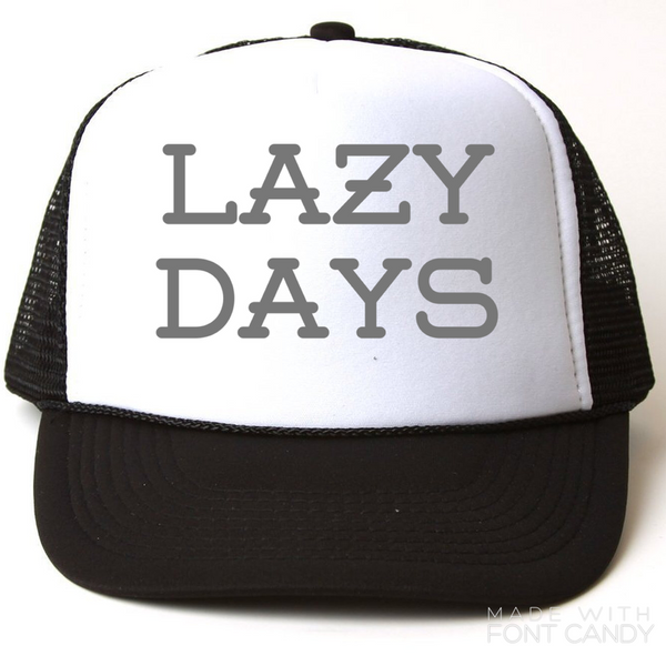 Lazy days - snapback-Little Hooligans Co.