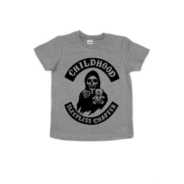 Childhood Sleepless Chapter - Kids Tee-Little Hooligans Co.