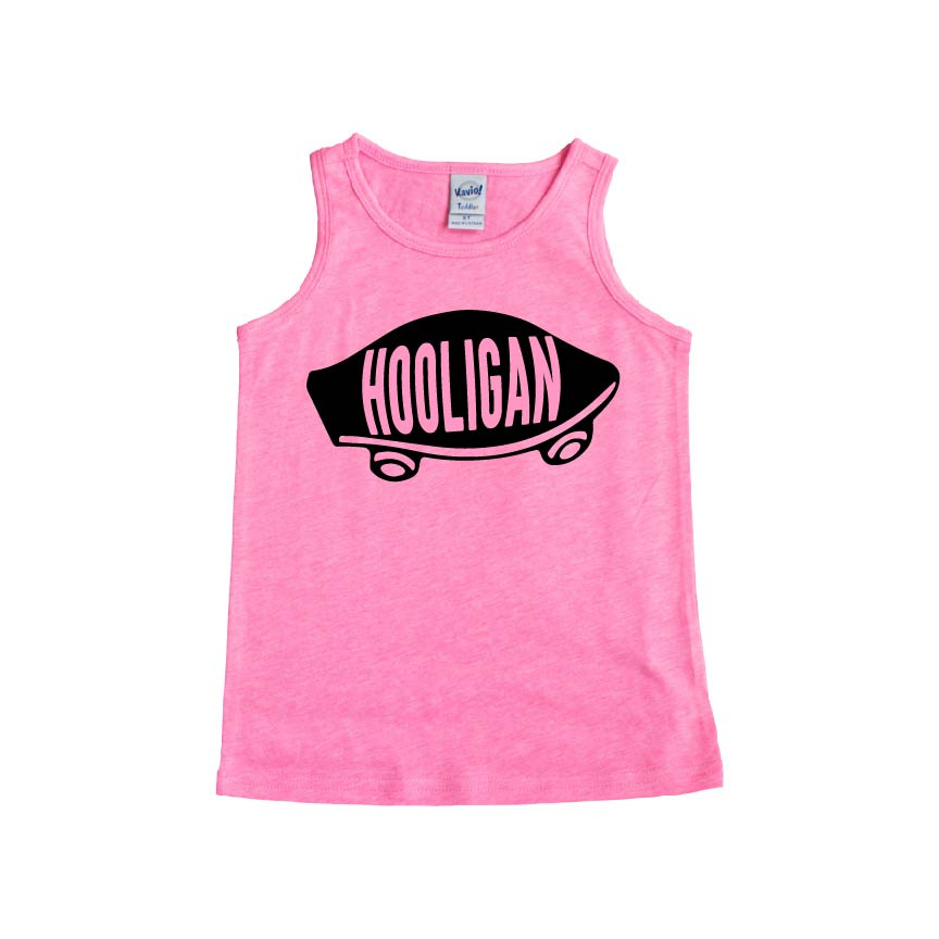 Hooligan (Skate) - Kids Tank-Little Hooligans Co.