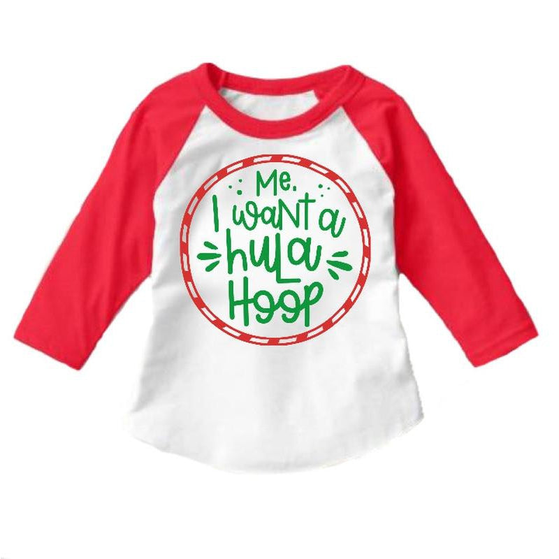 Hula Hoop Raglan - Kids {pre-order} - Little Hooligans Co.