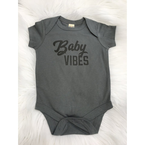 Baby Vibes - Bodysuit-Little Hooligans Co.