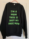 This Is My Face Now (halloween) - Unisex Pullover *OVERSTOCK*-Little Hooligans Co.