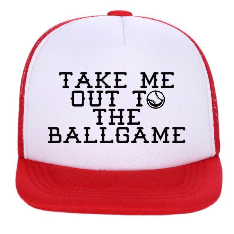 Take Me Out To The Ballgame - Infant/Toddler Snapback-Little Hooligans Co.