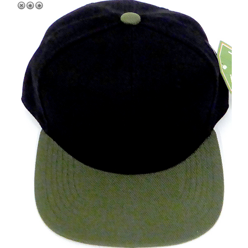 Black + Olive - Toddler Snapback
