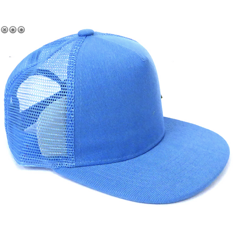 Sky Blue - Toddler Meshback Snapback-Little Hooligans Co.