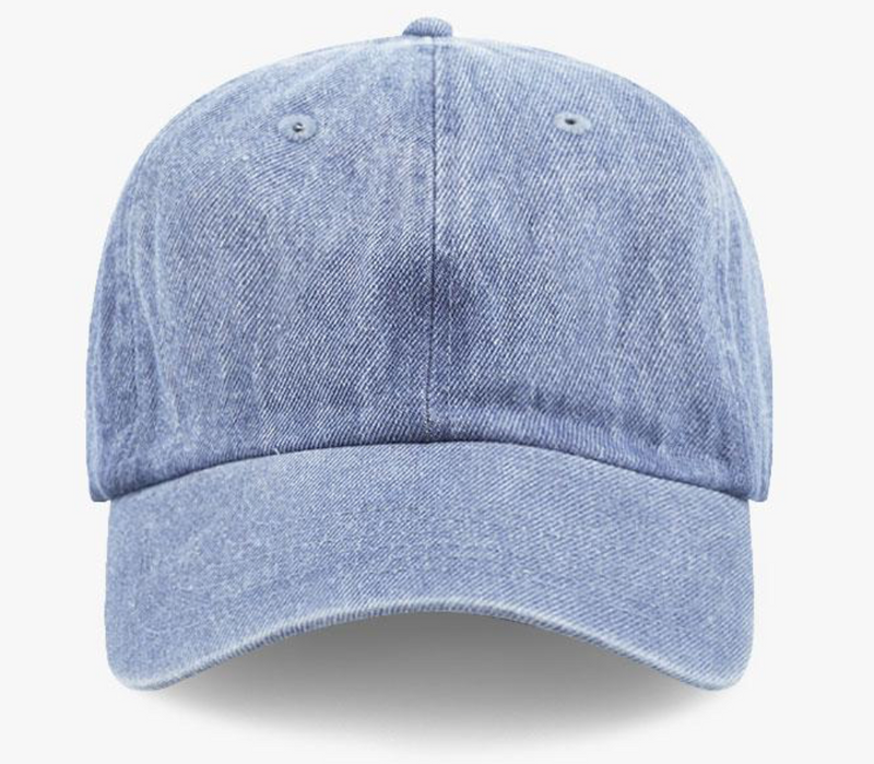 Demin Cotton Washed Baseball Cap-Little Hooligans Co.