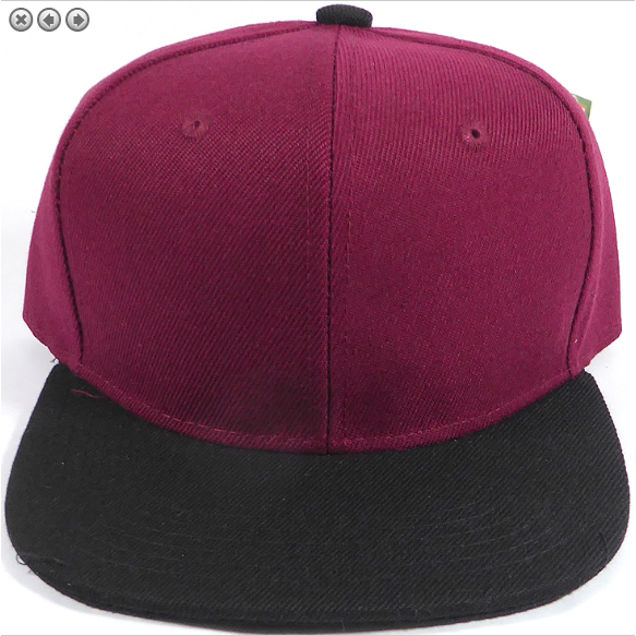 Maroon + Black Snapback-Little Hooligans Co.