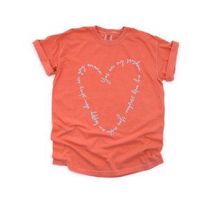 You Are My Sunshine - Unisex Salmon Tee-Little Hooligans Co.