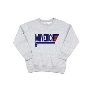 WM - Grey Pullover-Little Hooligans Co.