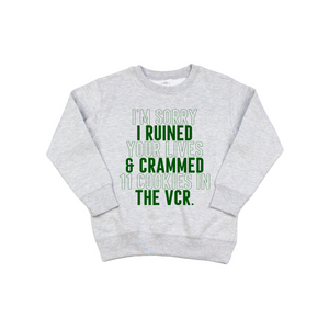 VCR - Kids Pullover-Little Hooligans Co.