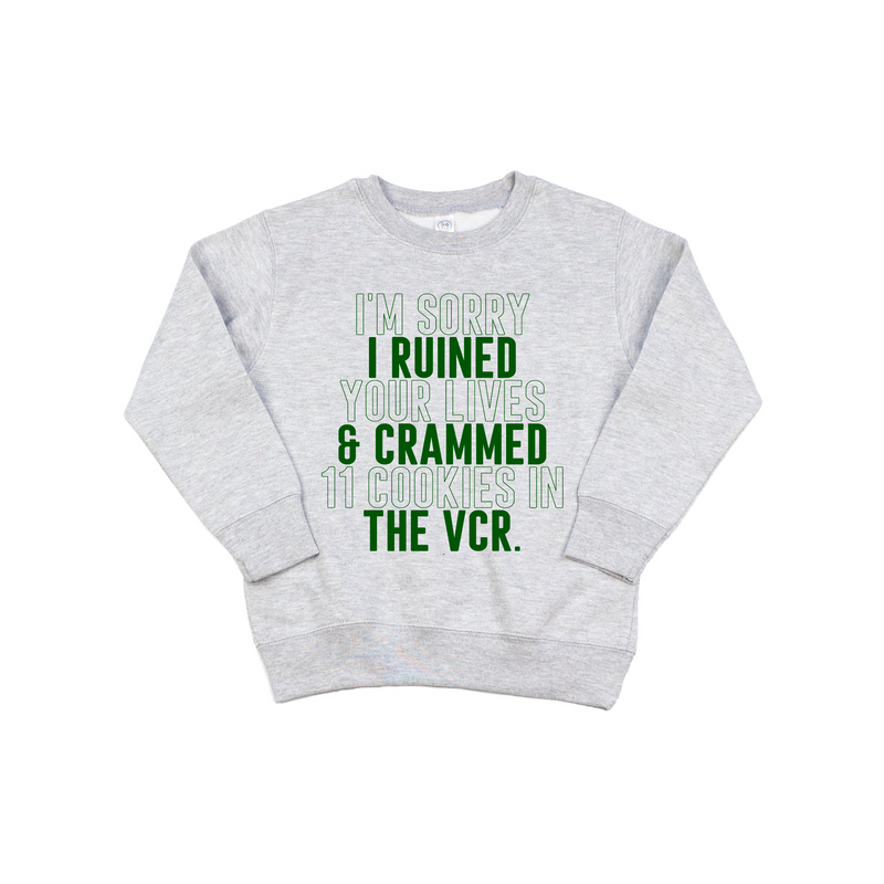 VCR - Kids Pullover - Little Hooligans Co.