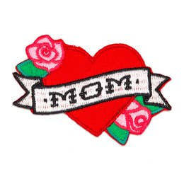 Mom - Iron-on Patch-Little Hooligans Co.