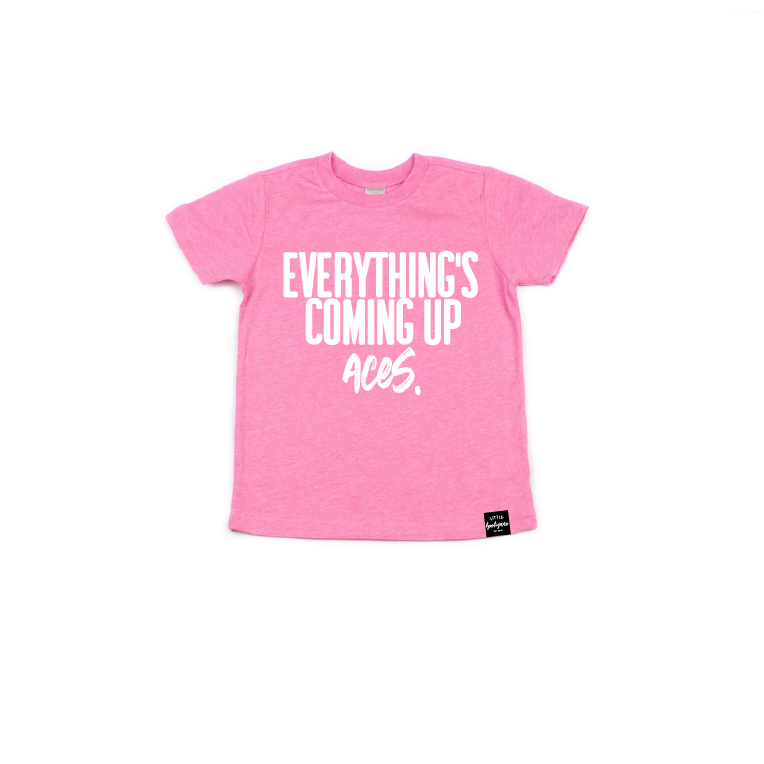 Everything's Coming Up Aces - Kids Tee-Little Hooligans Co.