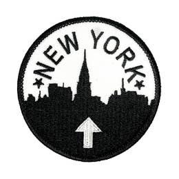 New York - Iron-On Patch-Little Hooligans Co.