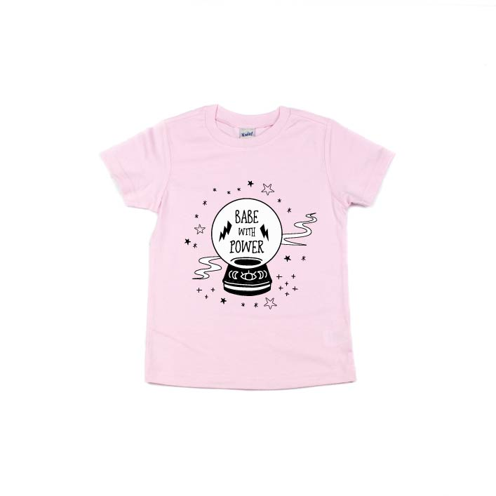 Babe With Power - Kids Tee-Little Hooligans Co.