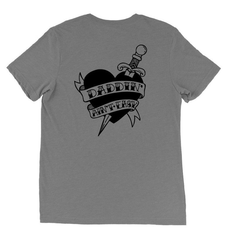 Daddin' Ain't Easy Tattoo - Unisex-Little Hooligans Co.