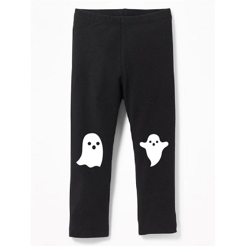 Ghosts - Black Leggings - Little Hooligans Co.