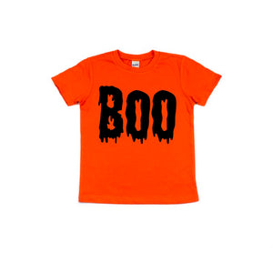 Boo - Kids Tee-Little Hooligans Co.