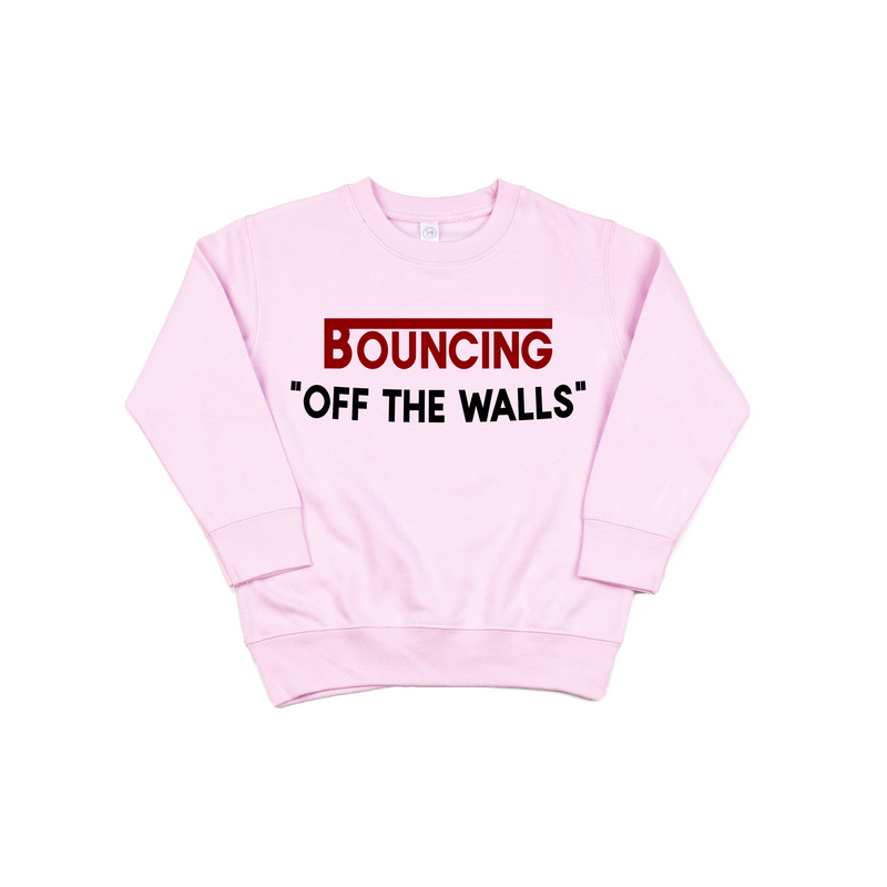 Off The Walls - Pink Pullover-Little Hooligans Co.