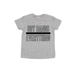 Boy Bands Over Everything - Kids Tee-Little Hooligans Co.