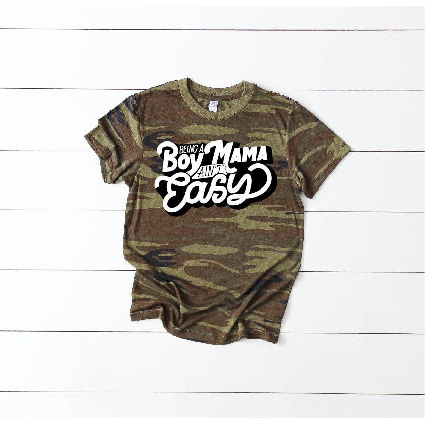 Boy Mama - Unisex Camo-Little Hooligans Co.