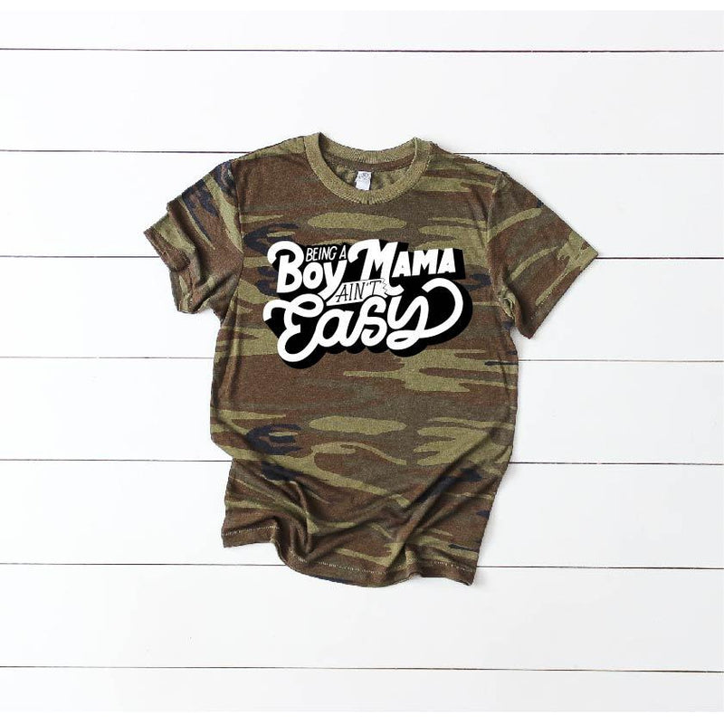 Boy Mama - Unisex Camo - Little Hooligans Co.