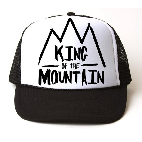 King of the Mountian Snapback-Little Hooligans Co.
