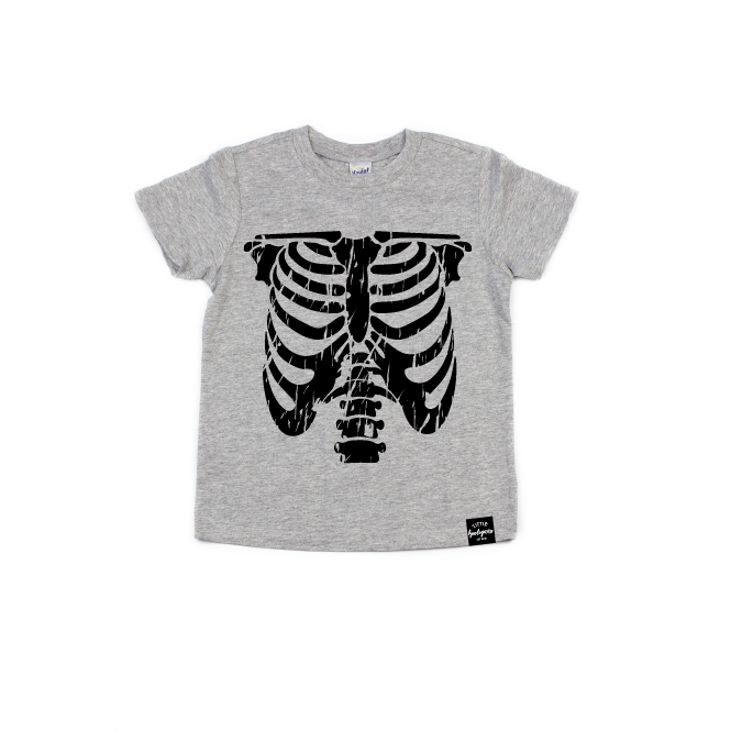 Rib Cage - Kids Tee-Little Hooligans Co.